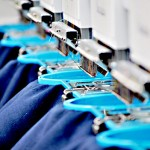 Digitilised embroidery machine at Ace Corporate Apparel