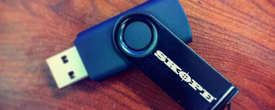 Skope customised usb