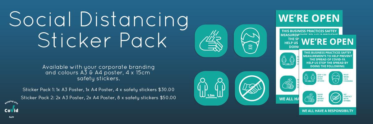 Social Distancing Sticker packs
